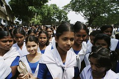 Schools lets out for the day (World Bank Photo Collection) Tags: school girls students girl student education group bangladesh gender worldbank southasia