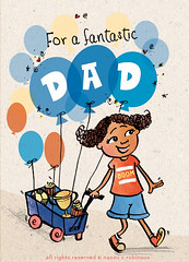 Father's Day Greeting Card illustration (Hi Ni) Tags: illustration dad artist diverse diversity illustrator fathersday multicultural greetingcard fathers blackgirl selfpublishing blackboy happyfathersday ilovemydad brownskin fathersdaycard celebratediversity etsyseller freelanceillustrator indiepublisher independentpublisher nyhagraphics naomicrobinson multiculturalgreetingcard freelancegreetingcarddesigner nyhacard