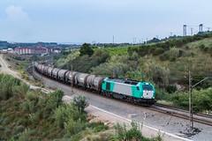 Cisternas (Explored) (evarujo) Tags: barcelona train tren railway canonef2470mmf28lusm anoia freixenet adif escombreras cantunis santsadurní vossloh canoneos7d transfesa euro4000 canbatista 335009 laltpenedèscataluñaespaña subiratslaltpenedèscataluñaespaña
