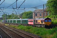 66155 5Z43 Leyland (British Rail 1980s and 1990s) Tags: ic125 hst fgw intercity125 ews dbs class66 66155 5z43 kilmarnock laira highspeedtrain barclay firstgreatwestern greatwesternrailway gwr train rail railway la15 station livery wcml westcoastmainline schenker lmr londonmidlandregion lancs lancashire mainline trains locohauled passenger liveried cargo dbc db railways