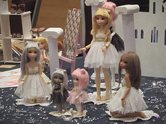 Dolls & Party II (Ebony Dragon) Tags: barcelona doll convention bjd melo atelier ateliermomoni momoni dollsandparty