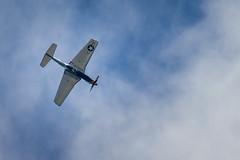 North American P-51D-30-NA  Mustang (F-AZSB) (jdelrivero) Tags: blue sky azul airplane gijn events ciudad places asturias colores cielo elements lugares provincia avion eventos elementos p51dmustang playasanlorenzo gijonairshow2015