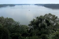 Susquehanna River (Molly Des Jardin) Tags: park blue trees usa green water forest river view state pennsylvania shore lancaster susquehanna 2014 susquehannock drumore 43215mm