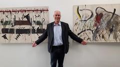 """Vernissage mit Werken von Jürgen Diehl im """"Bogen"""""""