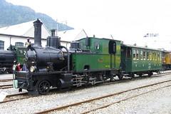 IMGP7793 (Alvier) Tags: schweiz graubünden rhb rhätischebahn landquart hauptwerkstätte tagderoffenentür triebfahrzeuge lokomotiven taufe triebzüge g34
