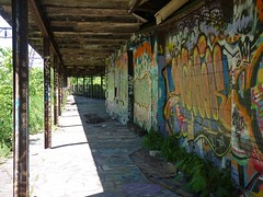 sgs2 (daily observer) Tags: springgardenstation readingviaduct abandoned abandonedrailroad abandonedphiladelphia philadelphia graffiti abandonedtrainstation philadelphiagraffiti