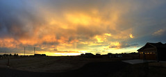 Peak Colors Sunset @7:06PM (pano) (northern_nights) Tags: sunset firesky skyfire redskies sky clouds goldenhour colorful pano panorama cheyenne wyoming atmosphericoptics cerpuscularrays weather photography