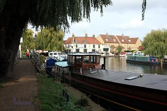Ely Riverside (innpictime ζ♠♠ρﭐḉ†ﭐᶬ₹ Ȝ͏۞°ʖ) Tags: pub cambridgeshire river boats riverside restaurant bridge path greatouse trees ely barge 523930910268112 ncr11 engagementbridge narrowboat willows cutterinn