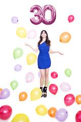 Happy B'day to me! (verobautista) Tags: girl woman birthday studio niko nikon d600 nikonistas balloon 30th myself