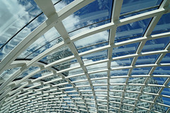 network (5) (leuntje) Tags: denhaag netherlands centralstation erasmuslijn architecture elineterminal thehague randstadrail terminal reflections zwartsjansma
