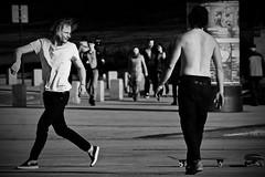 not this time dude (Dirty Thumper) Tags: sony nex nex5n mirrorless minolta mc md prime 200mm legacy tele telephoto manual monochrome bw street kraków cracow cracovie krakau クラクフの街 cracovia краков 城市克拉科 city candid people skater skateboard board sonyphotographing