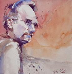 Ray - JKPP (lydie.pieplu) Tags: aquarelle watercolor portrait jkpp