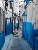 ruelle d'oudaya - Oudaya Street (A.B.S Graph) Tags: maroc morocco bleu oudaya oudaia rabat medina kasbah doors door gnaoui gnawi legnawi art style ciel sky ruelle rue street sale salé rbat cat lazy