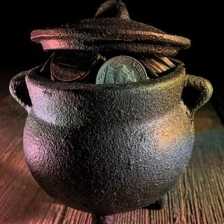 Potmetal Coin Pot