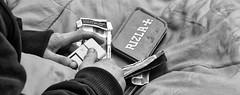 Ciggies & a coach ticket to............ (simpaticoltd) Tags: man beggar cigarettes coach ticket travel wordly goods