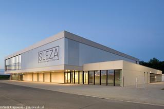 Ślęza Swimming Pool in Bielany Wrocławiskie