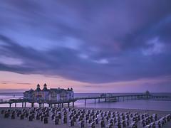 Sellin Thunderstorm (Tintenfischkleber) Tags: sellin sel1855 thunderstorm balticsea ostsee rügen beach dawn longexposure