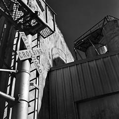 Grain Mill (koni-omegaman) Tags: minneapolis mn usa grain mill yashica 124g ultrafinextreme400 mediumformat 120 yellowfilter 6x6 blackandwhite film square caffenolc standdevelopment