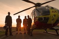 DSC_9757 (Paul Humphries68) Tags: aviation events midlandsairambulance sunsetsunrise tatenhill