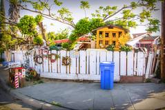 FANTASY AMOK (akahawkeyefan) Tags: junk flags wreaths mailboxes selma davemeyer playhouse trees crazy