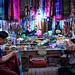 Market traders at Mahamuni Buddha Temple