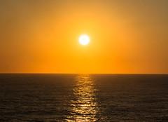 relax (-gregg-) Tags: sunset sun ocean cruise reflection