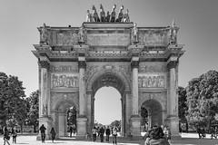 París 2014 (5) (José M. Arboleda) Tags: blancoynegro monocromático arco triunfo carrusel arcdetriompheducarrousel paris francia eos 5d markiii ef24105mmf4lisusm jose arboleda josémarboledac blackwhite