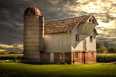 Not The Same (henryhintermeister) Tags: barns minnesota oldbarns clouds farming countryliving country sunsets storms sunrises pastures nostalgia skies outdoors seasons field hay silos dairybarns building architecture outdoor winter serene grass landscape plant cloudsstormssunsetssunrises