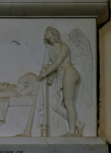 Stanford on Avon, Northamptonshire, monument to Thos. Otway Cave †1830, detail