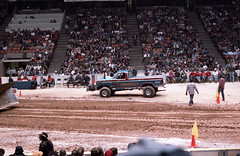 IMG_0055 (Nighthauler Photography) Tags: tractor cars truck pull meadowlands arena crushing bigfoot sled weight