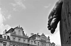 Prague ( www.borais.com) Tags: city travel europe european prague prag landmark center tschechien tschechischerepublik tschechische czechrepublic sight zentrum vltava fuss reise moldau janhusdenkmal oldtimesquare altstdterrathausplatz