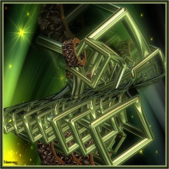 going green (bloorose-thanks 4 all the faves!!) Tags: abstract art digital 3d render fractal incendia