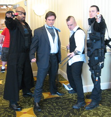 Collectors Con Maryland 2013 (MorpheusBlade) Tags: costume cosplay comicon punisher brucewayne nickfury daken thepunisher ultimatenickfury collectorsconmd collectorsconmaryland