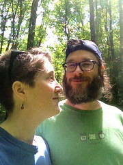 out for a walk (jessamyn) Tags: boyfriend me vermont hiking jim randolph randolphvt