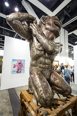 Sculpture by  YUE Minjun (b. 1962 China): The Tao of Laughter No. 4, 2012 (Stainless Steel) / Galerie Daniel Templon / Art Basel Hong Kong 2013 / SML.20130523.6D.14053 (See-ming Lee  SML) Tags: china people urban sculpture hk paris france art metal cn photography hongkong crazy lol steel events fineart photojournalism creativecommons  wtf   figures hkg journalism  6d artbasel  canon1740f4l   yueminjun 2013  ccby seeminglee canonef1740f4lusm   canon6d smlprojects crazyisgood  smlfineart smluniverse canoneos6d smlphotography galeriedanieltemplon stainelesssteel smlevents danieltemplon abhk SML:Projects=crazyisgood fl2fbp SML:Projects=photojournalism SML:Projects=smlfineart artbaselhongkong2013
