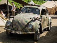 KdF-Wagen Kommandeurwagen (The Adventurous Eye) Tags: world two war action military wwii ww2 historical 1945 liberation reenactment reenactors teb kommandeurwagen kdfwagen borovina osvobozen