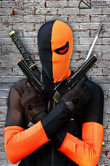 Deathstroke (Alchemist Photography) Tags: comics costume cosplay wilson guns dccomics villain slade animenext deathstroke