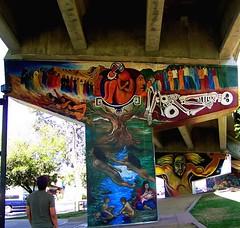 Chicano Park (hiddensandiego11) Tags: sandiego murals underneath chicanopark coronadobridge
