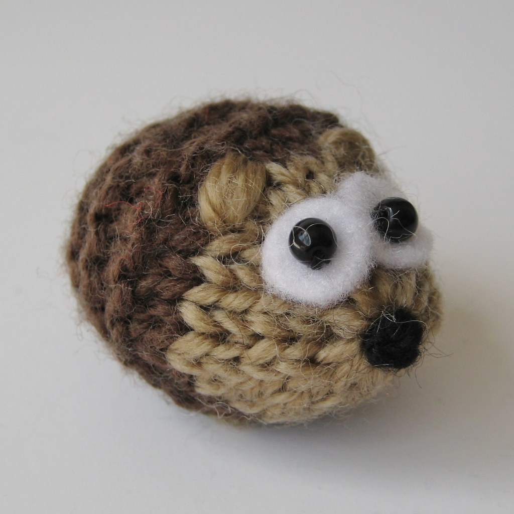 Knitting Patterns For Miniature Animals : The Worlds Best Photos by knitting patterns by amanda berry - Flickr Hiv...