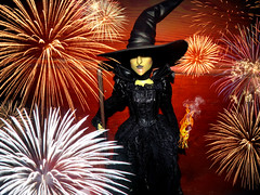 Happy 4th Of July!-Oz (They Call Me Obsessed) Tags: west green happy store doll fireworks witch oz great barbie july disney boom forth wicked powerful