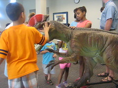 Dinosaurs Alive (Charlotte Mecklenburg Library) Tags: summer reading alive dinosaurs 2013
