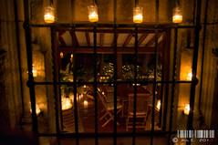 El paraiso (PeRRo_RoJo) Tags: light espaa luz window night ventana fire noche candle quiet dof bokeh sony silence segovia fuego vela silencio pedraza castillaylen dslra580