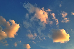 Clouds and Moon (AMRosario) Tags: nyc newyorkcity moon weather brooklyn clouds kensington ditmas