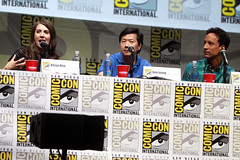 Alison Brie, Ken Jeong & Danny Pudi (Gage Skidmore) Tags: california brown dan nicole community san comic ken diego jim center international convention danny jacobs gillian yvette brie alison con rash harmon mckenna chri jeong pudi 2013