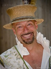 Dirk (Jim Frazier) Tags: costumes summer portrait people usa festival wisconsin pose bristol beard happy clothing eyecontact caps joy performance performing hats july straw posed happiness fair portraiture faire shows characters joyful costuming performer wi renaissance bristolrenaissancefaire fayre q3 joyous roles renaissancefair vandyke kenosha v500 bristolrenaissancefair eyetoeye 2013 ldjuly ©jimfraziercom adifferentpersona ld2013 20130700bristol 20130720bristol