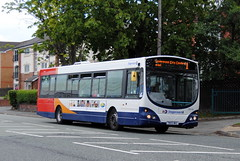ex.First Group now in Stagecoach livery (Hesterjenna Photography) Tags: bus coach transport first birkenhead transit wright stagecoach scania merseyside rockferry firstgroup wrightbus stagecoachmerseyside yn05wkc wrightcoachbuilders