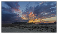 Sunset Over the Javelina Clays (AnEyeForTexas) Tags: sunset badlands deserts shale chihuahuandesert top20texas bestoftexas javalinaclays