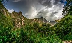 Views on the hike to Machu Picchu