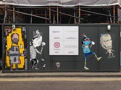 Alo, Alex Senna, Cranio & Hin (HowAboutNo!) Tags: street brick london art market east lane