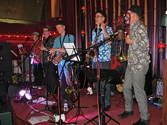 The Grey Cats at the Save Lewisham Hospital Victory Dance (Andy Worthington) Tags: music london musicians politics protest nhs ae hospitals greycats croftonpark politicalprotest andyworthington rivoliballroom lewishamhospital savelewishamhospital lewishamae